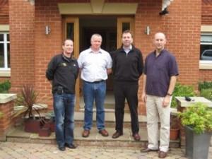 Nigel, Brian, Martin and John