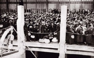 Belgian refugees at Ostende (1914)